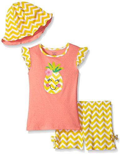 Gerber Girls Three Piece Shirt Bloomer