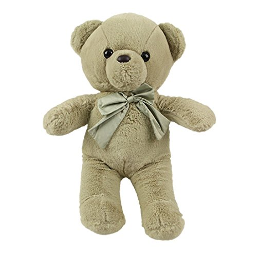 Miniso Teddy Bear Plush Toy 17 inch Teddy Bear Stuffed Animal Dolls Child Pillow Cushion, Super Soft Cuddly Figures for Kids Gift Party Favors (Green) by Miniso