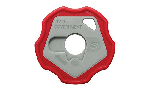 Real Avid 1911 Smart Wrench - 1911 Barrel Bushing Wrench, Government & Oficer, Rubberized Non-Slip Outer Ring