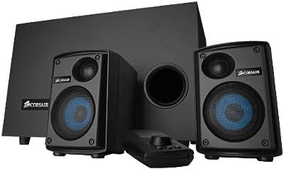 Corsair Gaming Audio Series SP2500 High-Power 2.1 PC Speaker System (CA-SP211NA)