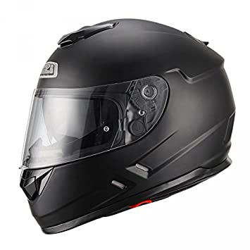 NZI CASCO INTEGRAL SYMBIO MATT BLACK NEGRO MATE TALLA S: Amazon.es: Coche y moto