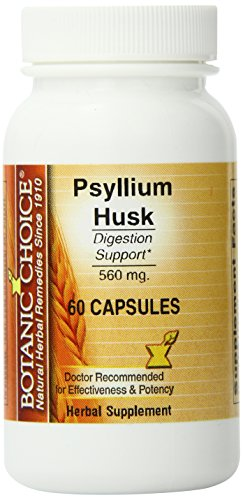 Ботанический Выбор подорожника лузги Капсулы, 560 мг, 60 таблеток