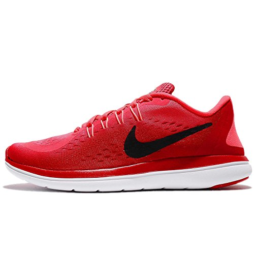 600 Donna Multicolore Red Black Free Indoor Nike Sense RN University Women's Red Scarpe Solar Running Shoe Sportive qwBazv