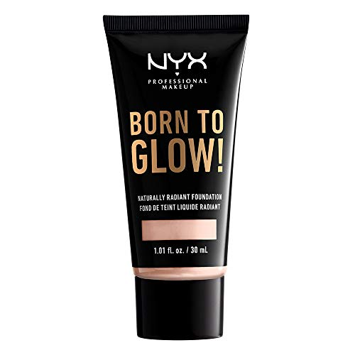 NYX PROFESSIONAL MAKEUP Born To Glow Naturally Radiant Foundation - Light Porcelain