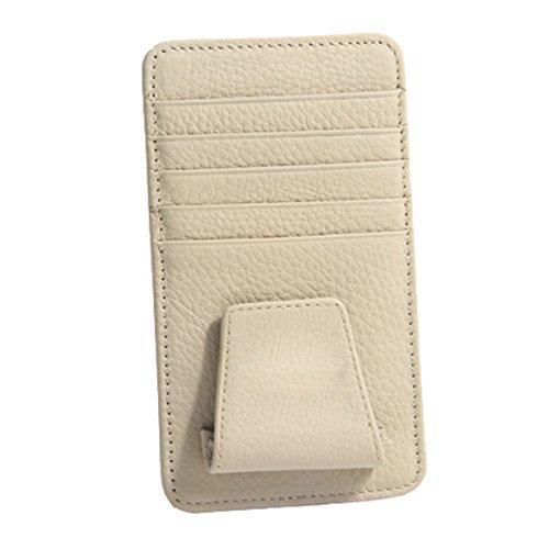 Pocket Organizer Pouch Bag Holder In-Car (Beige) - 6