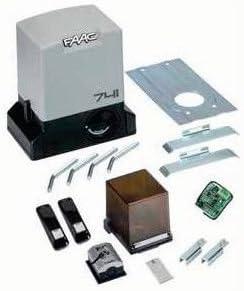 Kit AUTOMAZIONE para puertas correderas 230 V Delta 3 FAAC 105630445 Automatismos: Amazon.es: Hogar