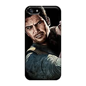 Iphone 5/5s FoIlZ8303YXgME Nathan Drake Tpu Silicone Gel Case Cover. Fits Iphone 5/5s