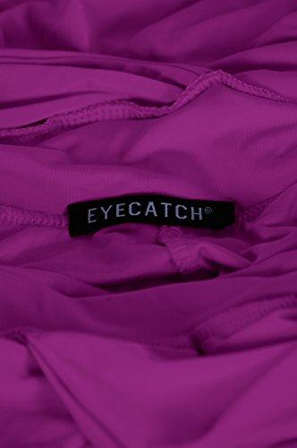 Magenta Violet Robe EyeCatch Licou Cou Nicole qxRXw10v4U