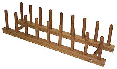 Simply Bamboo Plate Rack