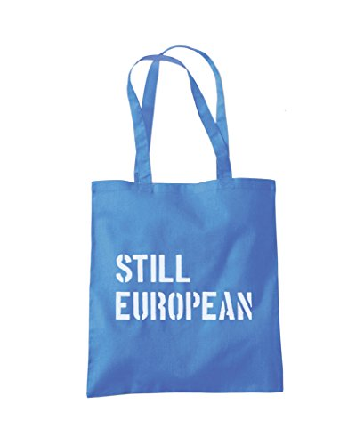 Blue Still Bag Tote Shopper Still Cornflower Fashion European Tote European Shopper 1OHqxxv