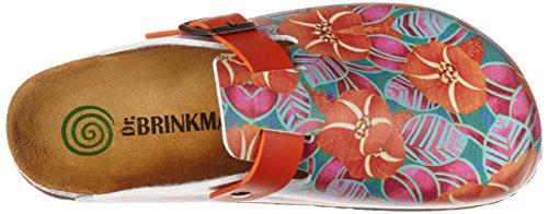 Dr. Brinkmann 600387, Zuecos para Mujer naranja (orange)