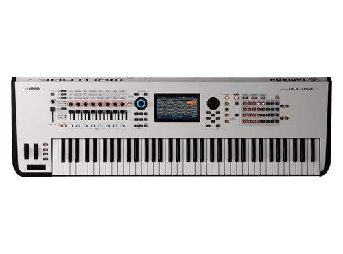 Yamaha, 76-Key Synthesizer (MONTAGE7 WH) by YAMAHA
