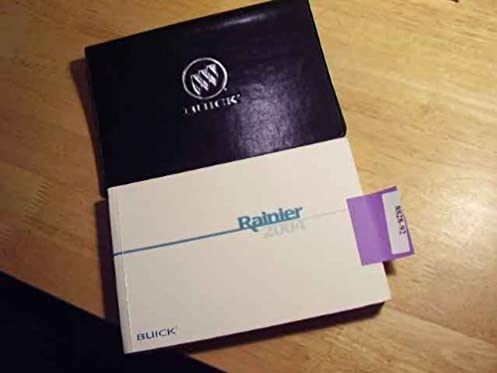 2004 buick rainier owners manual book buick amazon com books rh amazon com 2004 buick rainier service manual 2004 Rainier Problems