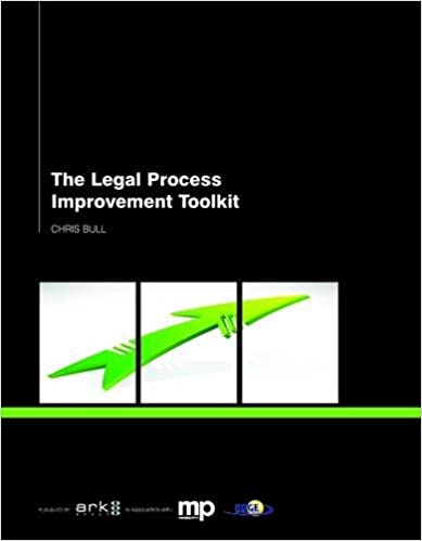The legal process improvement toolkit