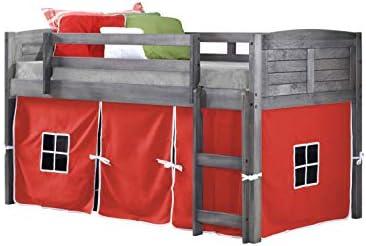 DONCO KIDS Louver Low Loft Bed