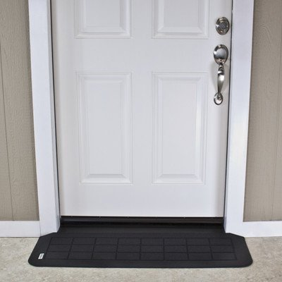 SafePath Products RAEZ1110 EZEdge 1 1/4'' Thick x 42'' Wide x 12.25'' Transition/Threshold Ramp by SafePath Products