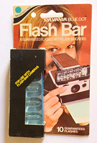 Indicator Bar - Sylvania Blue Dot Flash Bar, 10 Guarenteed Flashes with Flash indicators