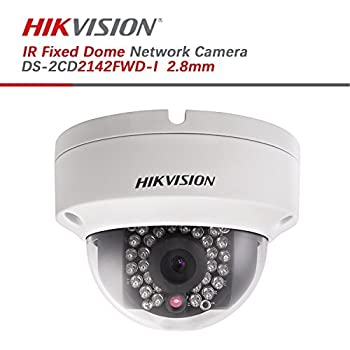 Hikvision 4MP WDR PoE Network Dome Camera - DS-2CD2142FWD-I 2.8mm