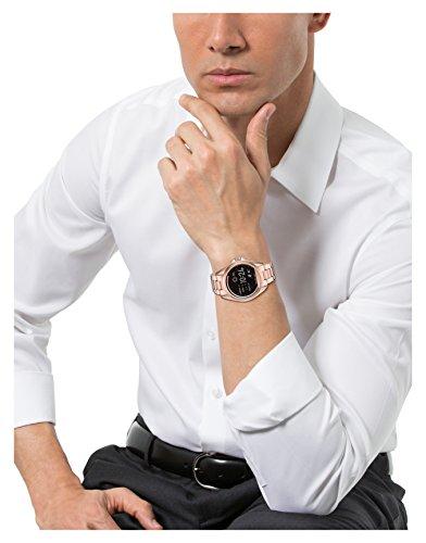 Michael Kors Access, Women's Smartwatch, Bradshaw Rose Gold-Tone Stainless Steel, MKT5004