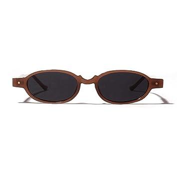 LAMAMAG Gafas de sol Gafas de Sol ovaladas Remache Redondo ...