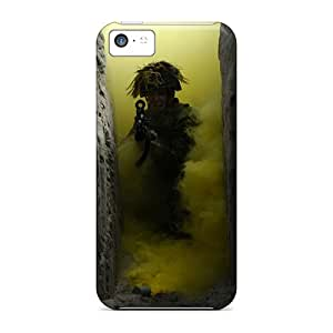 High-quality Durable Protection Cases For Iphone 5c(soldiers War Military)