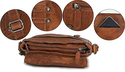 vintage cuir main femme femmes marron sacoche à sac bandouliere sac Tomy Ven XvpxqR4X