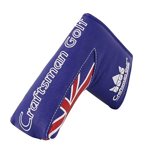Craftsman Golf Union Jack UK Flag Series Golf Club Headcover (Blade Putter Cover) ()