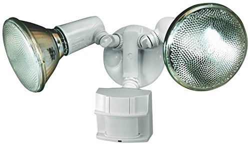 Heath Zenith HZ-5411-WH Heavy Duty Motion Sensor Security Light (White)