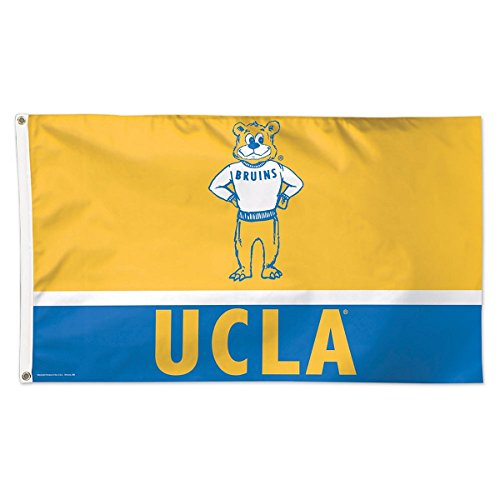 (WinCraft University of California Los Angeles Throwback Vintage 3x5 College Flag)