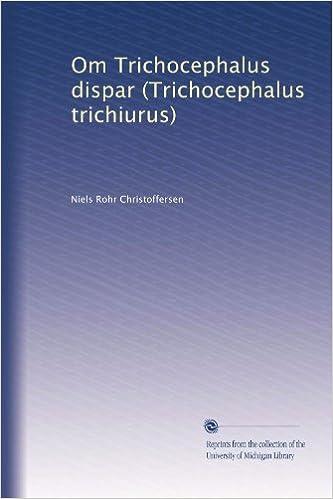 , Trichocephalosis mi az - Trichocephalosis mi
