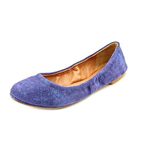 Lucky Brand Emmie Women US 10 Blue Ballet Flats