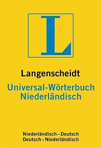 Langenscheidt Universal-Wörterbuch Niederländisch Vinyl-gebunden – 8. Mai 2000 Redaktion von Langenscheidt 3468182333 Fremdsprachige Wörterbücher Sachbücher / Lexika