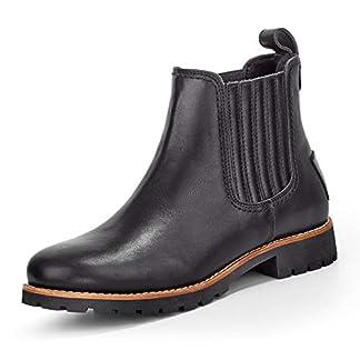 Panama Jack Women's Brigitte Igloo Travelling Chelsea Boots, Black Black B2, 6 UK 17