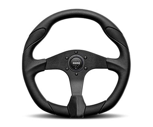 MOMO QRK35BK0B Quark Black 350 mm Urethane Steering Wheel