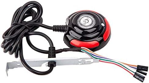 Uxcell 67/' Desktop Computer Case Power Supply Reset HDD Button Switch