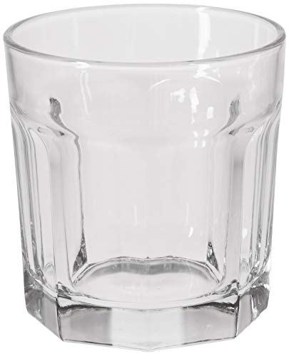 Circleware Riverton Heavy Base Whiskey Glass, Set of 6 Home & Kitchen Party Dining Entertainment Beverage Drinking…