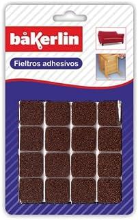 Bakerlin-Feltrino adesivo, quadrata, 23 cm x 23 mm.16pzs M. Bak