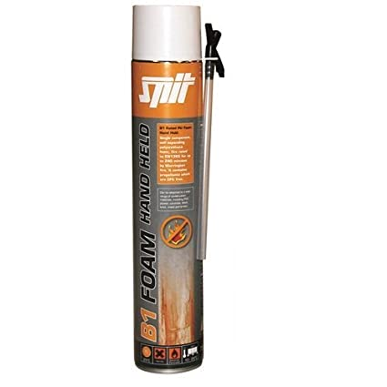 12 x Spit B1 resistente al fuego (240 min) mano Ampliación Espuma 750 ml