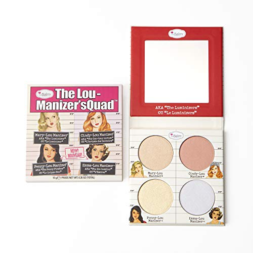 The Lou-Manizers Quad Makeup Palette, Highlighter, 2 Exclusive Shades