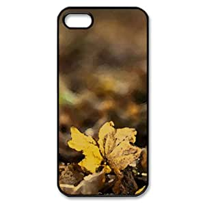 Fallen Watercolor style Cover iPhone 5 and 5S Case (Autumn Watercolor style Cover iPhone 5 and 5S Case)