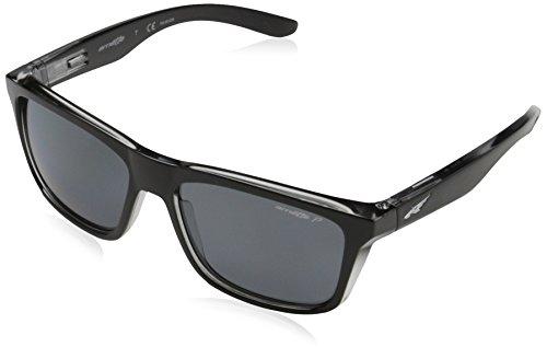 Arnette Mens Syndrome Sunglasses (AN4217) Black/Grey Plastic - Polarized - - Arnette Sunglasses White