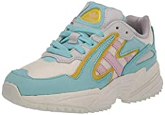 Inspired by playful '90s fashion, the fearless Yung-96 collection combines archival designs with fresh materials. These shoes have a textile upper with retro overlays. A chunky sculpted midsole keeps the '90s vibes authentic. Bold color combi...