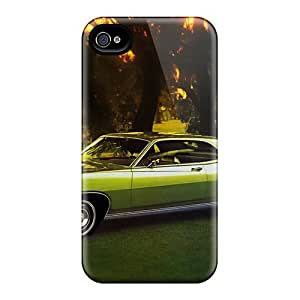 4/4s Scratch-proof Protection Case Cover For Iphone/ Hot 1971 Ford Torino 500 Phone Case