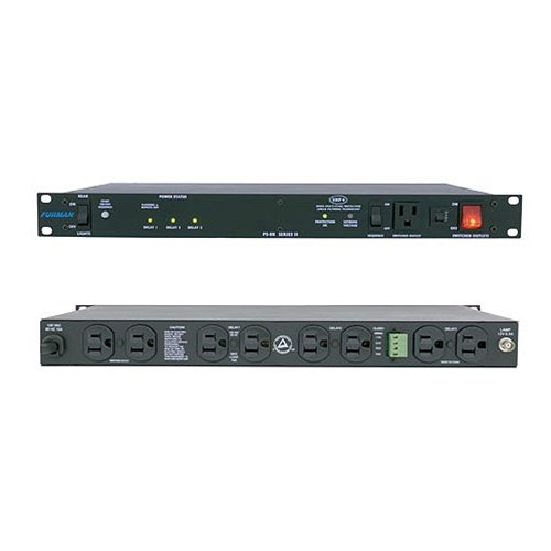 Furman PS-8R II  15 Amp Power Sequencer, Advanced Level Power Conditioning, SMP, EVS, LiFT,Sequence On and Off from Front Panel or Remote Switch, Best Gadgets