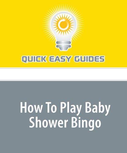 Read Online How To Play Baby Shower Bingo pdf epub