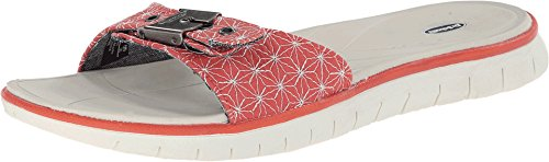 Dr. Scholl's Women's Blaine Platform Sandal,Red/White,10 M US