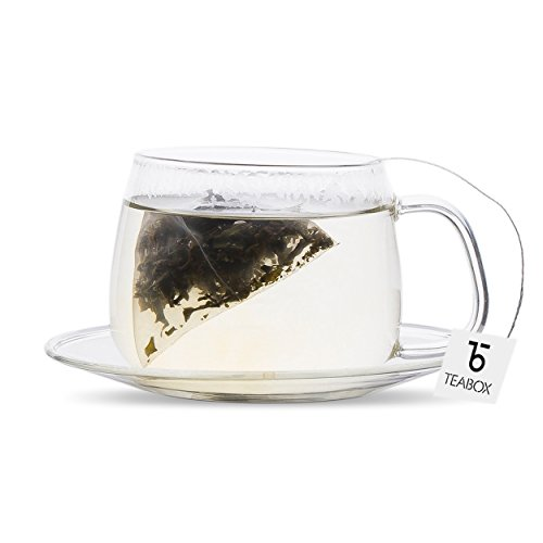 Teabox Darjeeling Silver Needle White Tea, 16 Tea Bags   100% Natural Premium High Altitude Darjeeling CTM Silver Needle Tea   Low Caffeine and High Anti-Oxidants   Sealed-at-Source Freshness by Teabox (Image #2)