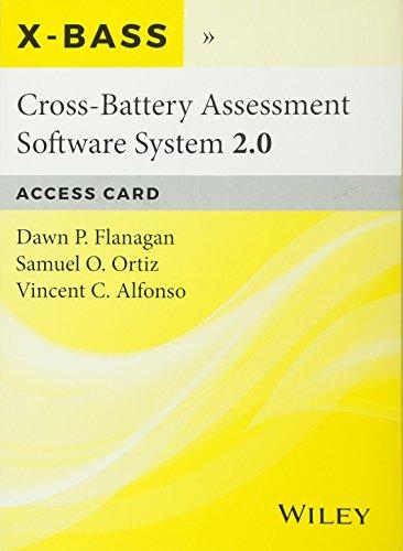 Cross-Battery Assessment Software System 2.0 (X-BASS 2.0) Access Card
