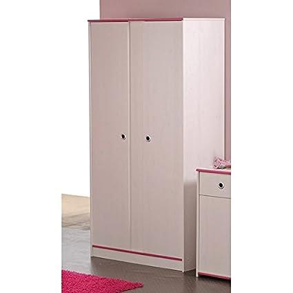 El armario de colour blanco x 2 para puertas de 90 cm de un armario de