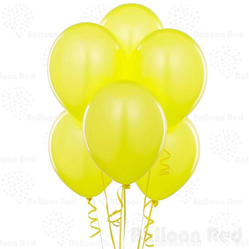 10 Inch Latex Balloons (Premium Helium Quality), Pack of 100, Amber (Amber Rose Halloween Costumes)